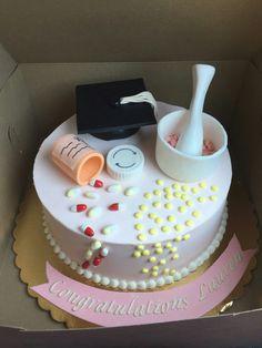 Pharmacy School graduation celebration cake!