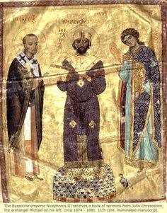 The Byzantine Moorish Emperor Nicephorus III - Nikephoros III Botaneiates…