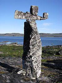 The Hammer of Thor, Arnaud River, Ungava Peninsula, Quebec, Canada