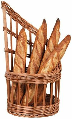 Matfer Bourgeat 573421 Wicker Basket for Bread from Matfer Bourgeat Black Friday Cyber Monday Willow Weaving, Basket Weaving, Butter Bread Recipe, Bread Display, Homemade Hamburgers, Shop Fittings, Paper Basket, Recycled Furniture