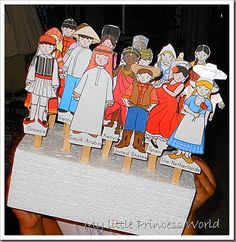 """Free Kids Around the World (traditional clothing) from Kiz Club - Under """"People & Things"""" on the ClipArt page, this is a 3-page pdf download. LOVE IT!!"""