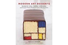 「モンドリアン」がスイーツになった!? モダンアートをモチーフにしたデザートのレシピ本『Modern Art Desserts』   roomie(ルーミー)