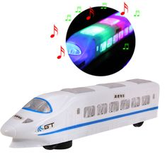 Electric Bullet Train Toy LED Flashing Lights Sounds Child Kid Boy Girl Gift