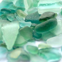 """De kleur: groen Celadon * Designamour """"Sea Glass"""""""