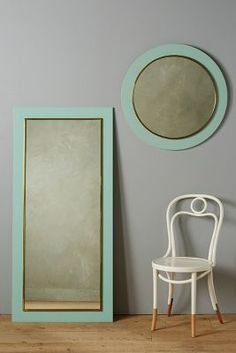Another mirror idea. Plus anthropologie is a Philadelphia brand Unique Mirrors, Anthropologie Home, Mirror Panels, Bedroom Colors, Decoration, Wall Art Decor, Home Accessories, House Design, Design Design