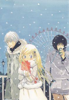 Chika Umino, Honey And Clover, Shinobu Morita, Takumi Mayama, Hagumi Hanamoto