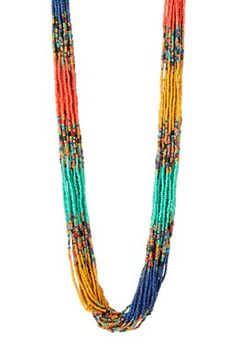 Gaia Necklace by Meghan Fabulous on Fabric Jewelry, Beaded Jewelry, Handmade Jewelry, Jewelry Necklaces, Seed Bead Necklace, Beaded Necklace, Seed Beads, Jewelry Accessories, Jewelry Design