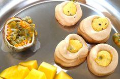 Luonnollisesti makeutettu marenki mangopassiontäytteellä Mango, Health, Ethnic Recipes, Food, Manga, Health Care, Essen, Meals, Yemek