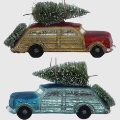 Woody Car Christmas Ornaments