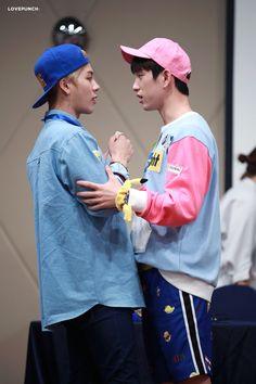 Jinson - Jinyoung & Jackson from got7