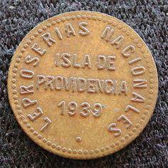 Moneda historica: la Isla de la Providencia