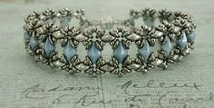 Bracelet of the Day: Bluebell - Blue & Silver | Linda's Crafty Inspirations | Bloglovin'