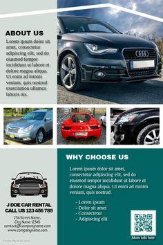 1000 images about car dealer flyer diy on pinterest for Vista print brochures templates