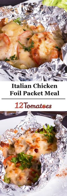 Italian Chicken Foil Packet