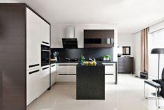 Nowoczesna kuchnia: postaw na modne kontrasty  - zdjęcie numer 2