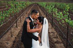 From a Romantic NYC Bridge Proposal to a California Vineyard Wedding; Briana + Donovan's Love Story |Munaluchi Bride