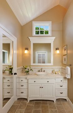 |Beautiful Living Spaces|Classic bath vanity with lots of storage-Keeping Interiors