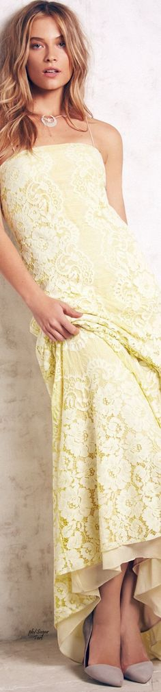 Shades of Pale Yellow Pastel Yellow, Shades Of Yellow, Mellow Yellow, Satin Dresses, Gowns, Yellow Fashion, Yellow Dress, Boho Outfits, Girly Girl