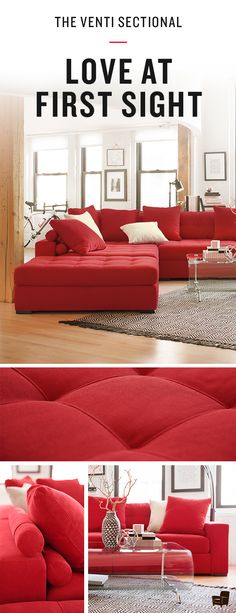 It really is love at first sight. When thinking about the perfect living room, you cannot help but think about the Venti Collection. Available at Value City Furniture!
