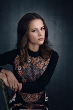 ALICIA VIKANDER - Son of a Gun Photoshoot