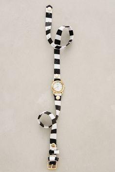 Striped Wrap Watch by La Mer
