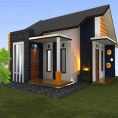 Minimalis House Design, Studio Type Apartment, Modern Bungalow House Design, Cottage Plan, Architect Design, House Front, Minimalist Home, Building A House, House Plans