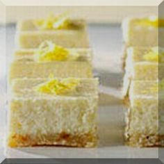 Check out these great PHILADELPHIA mini cheesecakes! The buzz about our PHILADELPHIA Mini Cheesecakes is that they're simple, quick and delicious. What more could you ask from a dessert? Lemon Cheesecake Bars, Cheesecake Recipes, Lemon Bars, Cheesecake Squares, Classic Cheesecake, Cheesecake Cookies, Caramel Cheesecake, 13 Desserts, Finger Foods