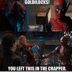 Deadpool and Thor