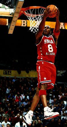 Kobe Finishes Backwards, '03 All Star Game.