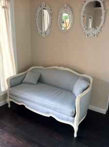 See The French Inspired Items We Found On Craigslist Today! A French Settee  Loveseat And