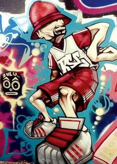 forever style by shenron_socca Graffiti Cartoons, Graffiti Characters, Arte Hip Hop, Hip Hop Art, Graffiti Alphabet, Graffiti Lettering, Grafitti Street, Amazing Street Art, Graffiti Styles