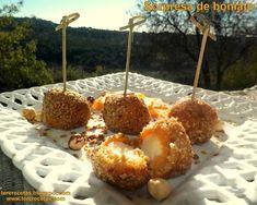 Sorpresa de boniato (batata), Receta Petitchef Canapes, I Foods, Doughnut, Cereal, Veggies, Eat, Breakfast, Desserts, Recipes