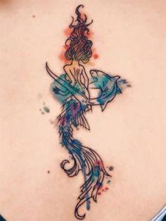 15 tatuagens que farão você se sentir como a Pequena Sereia