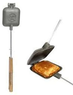 7 sites of camping stuff linked on this page: including a whole site dedicated to pie irons and recipes. With a search bar. Nice.