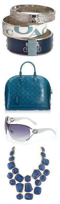 fashionably blue ♥✤ | Keep Smiling | BeStayBeautiful