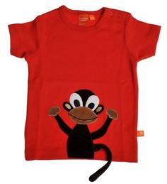 How cute is this monkey shirt? Monkey T Shirt, T Shirts, My Boys, Babys, Spring Summer, Cute, Prints, Clothes, Tops