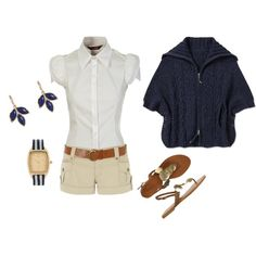 preppy summer, created by shauna-rogers.polyvore.com