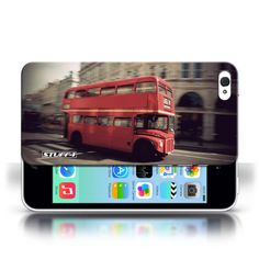 Designer Mobile Phone Case / London England Collection / Red Bus #case #cover #iphone #smartphone #london #bus