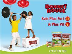 Campagne outdoor lait en poudre Bonnet Rouge, agence McCann Erickson Dakar,