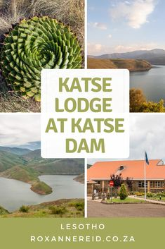 Find out all about Katse dam accommodation and the Katse Lodge at Katse Dam in Lesotho. This Lesotho accommodation in Katse has wonderful views of Katse Dam, some of the best of all lodges in Lesotho. As for things to do at Katse, enjoy a good meal, go for a tour of the Katse Dam wall, visit the botanical garden to see plants like spiral aloes, go pony trekking or for a boat trip on the dam. #Lesotho #KatseLodge #KatseDam