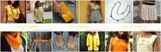 Shoppez des pièces jaunes tendance de ce P/E15 sur www.la-petite-annecienne.com ! #yellow #jaune #mode