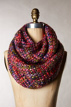 I fall for this cowl! It seems so cosy and I love the playful combination of bright colors! A must have for winter looks. #anthrofave #anthropologie #cowl #winter #women #fashion