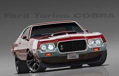 1972 Ford Torino COBRA