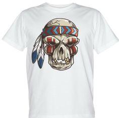 koszulka z czaszką: Aztek, T-shirt with skull: Aztec