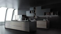 Modern kitchen design on Behance