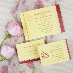 This one could be nice, though it isn't a favorite. - Traditional ganesh gold wedding invites EWI200 |