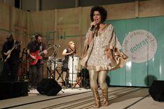 Márcia Castro mostrou toda a sua brasilidade durante a apresentação.