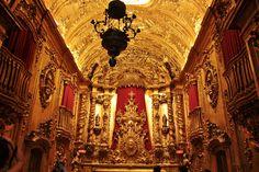 Interior do Mosteiro de São Bento - Rio de Janeiro (by Rodrigo Jordy)