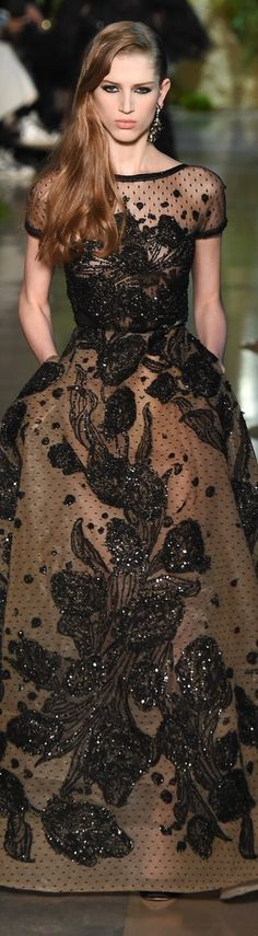 Elie Saab Haute Couture Spring Summer 2015 Collection Paris Fashion Week ZsaZsa Bellagio – Like No Other: Paris Fashion Week: Saab Sensational Elie Saab Couture, Haute Couture Paris, Style Haute Couture, Couture Fashion, Runway Fashion, Couture 2015, Spring Couture, Paris Fashion, Fashion Week
