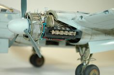 Scale Model 1/32 He219 A-0 Uhu Owl by NewEnglandModelWorks